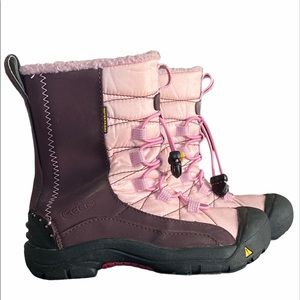 Keen Girl's Vail Winter Boots Size 3